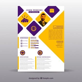 Download resume and cv template